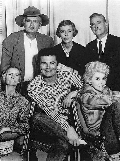 Cast of the Beverly Hillbillies in an Early Promo