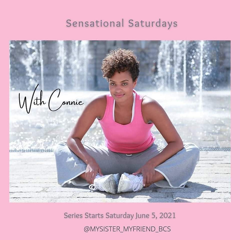 A Sensational Saturday With Connie Session