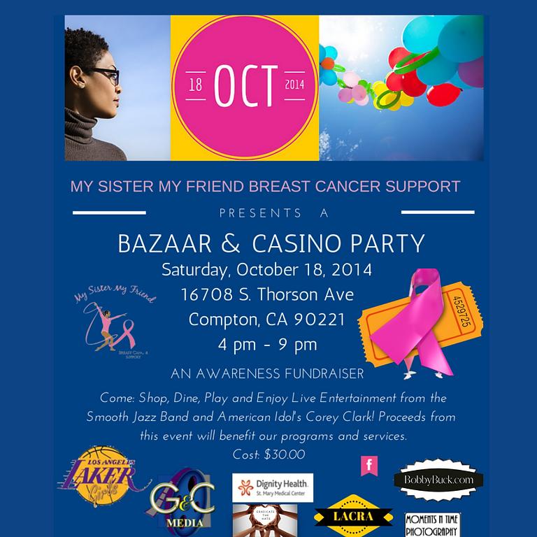 Bazaar and Casino Party Fundraiser