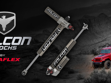 Falcon Shocks by TeraFlex - The New Benchmark!