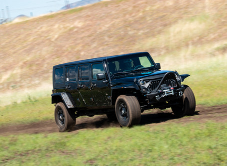 Falcon-Equipped 6-Door JKU Jeep Wrangler Unlimited Search and Rescue Vehicle