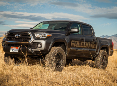 4WAAM On-Road Review: Toyota Tacoma Falcon Sport Leveling System