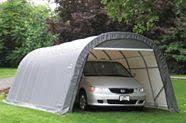 Soyez prêt pour l'hiver avec un garage temporaire