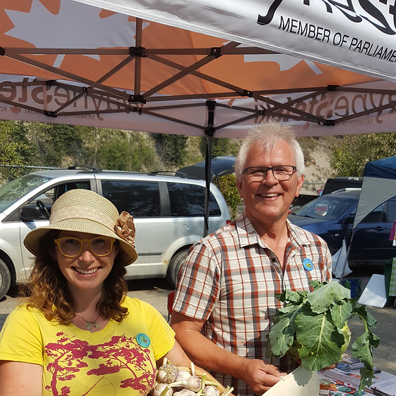 Nelson Farmers Market - Meet the Candidate
