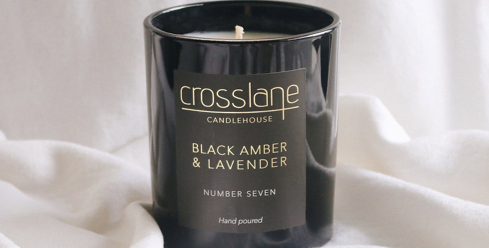 BLACK AMBER & LAVENDER