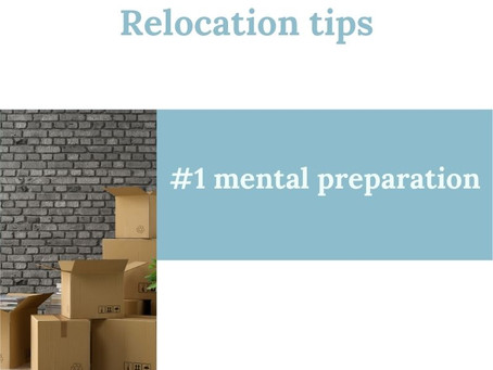 RELOCATION: DON'T MAKE THE MISTAKE OF ONLY FOCUSSING ON LOGISTICS