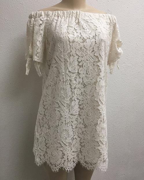 Carlota lace tunic top
