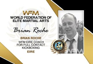 eire kickbox coach roche