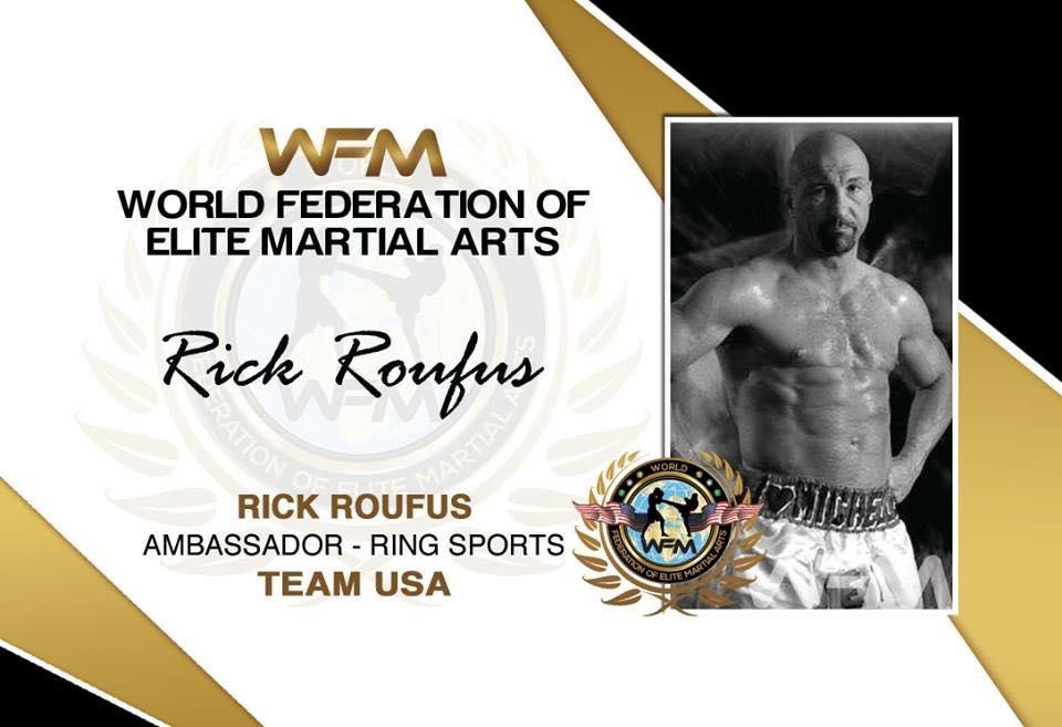 ring sports ambassador roufus