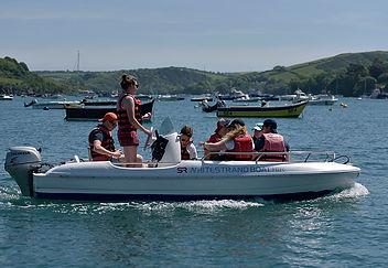 Whitestrand boat hire Salcombe CAP 4700