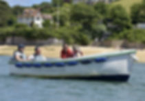Whitestrand boat hire Salcombe Fishercraft