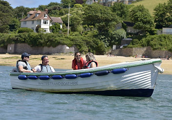 Whitestrand boat hire Salcombe Fishercraft