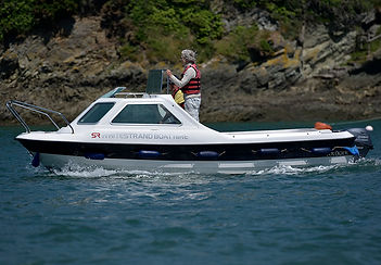 Whitestrand boat hire Salcombe Kruger Cuddy
