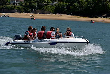 Salcombe boat hire on CAP400