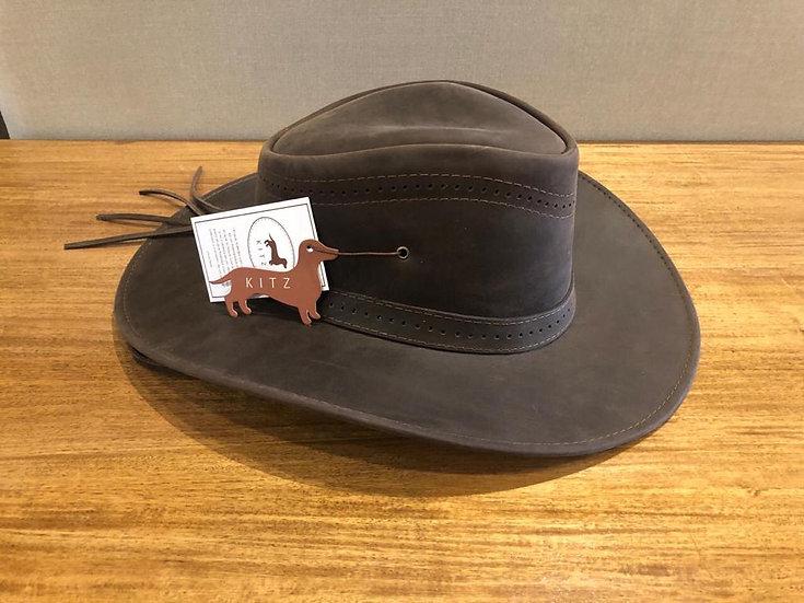 Sombrero en cuero