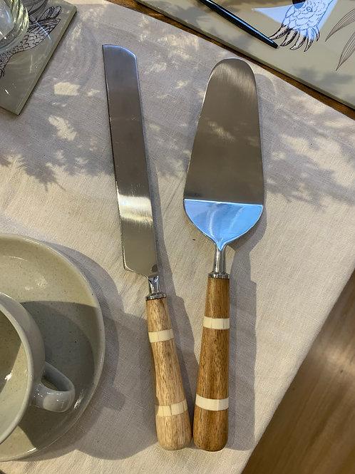 Set Cuchillos Torteros