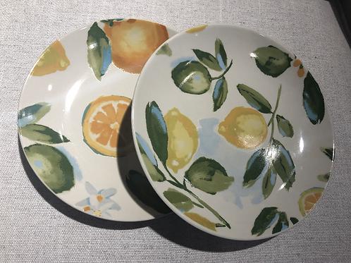 Set x2 Platos Limones
