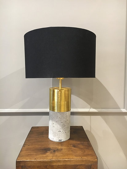 Lámpara de Mesa - Concreto