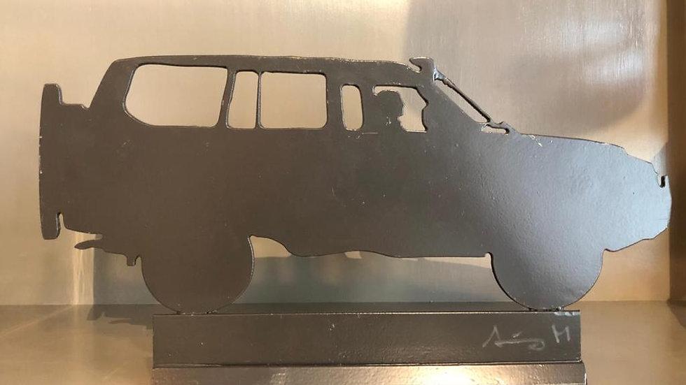 Escultura Jeep