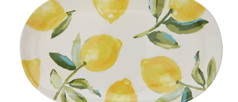 Plato Servir - Limones