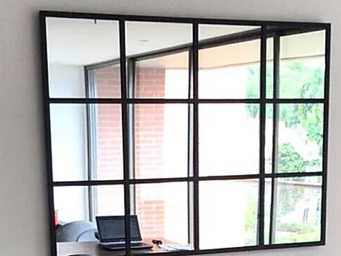 Espejo Marco Ventana  de 1.60x.90