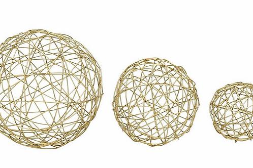 Esferas Doradas Setx3