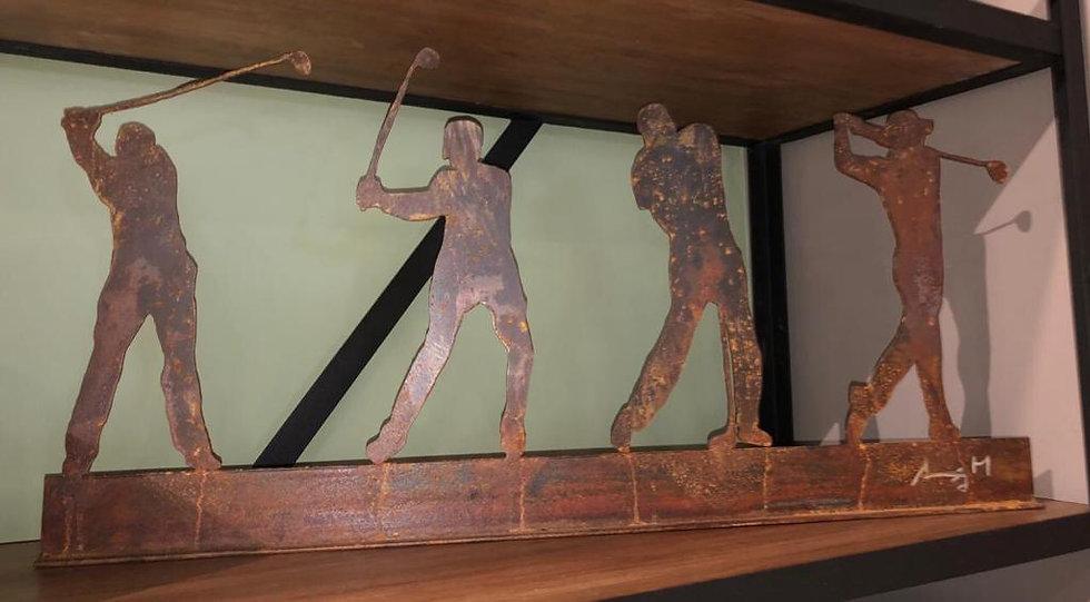 Escultura Golf x 4