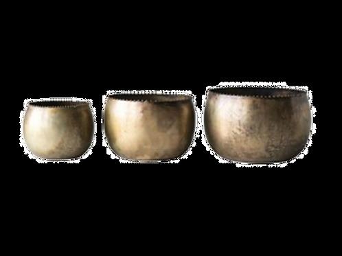 Bowl metalico decorativo small