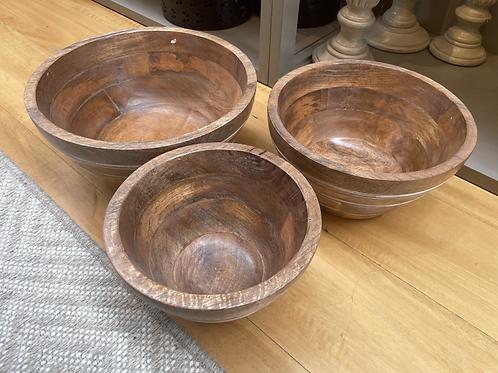Bowls en Madera