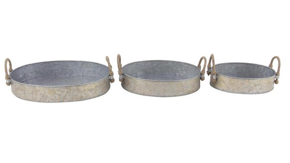Bandeja en Metal Galvanizado