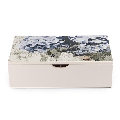 Caja de Té Hortensias