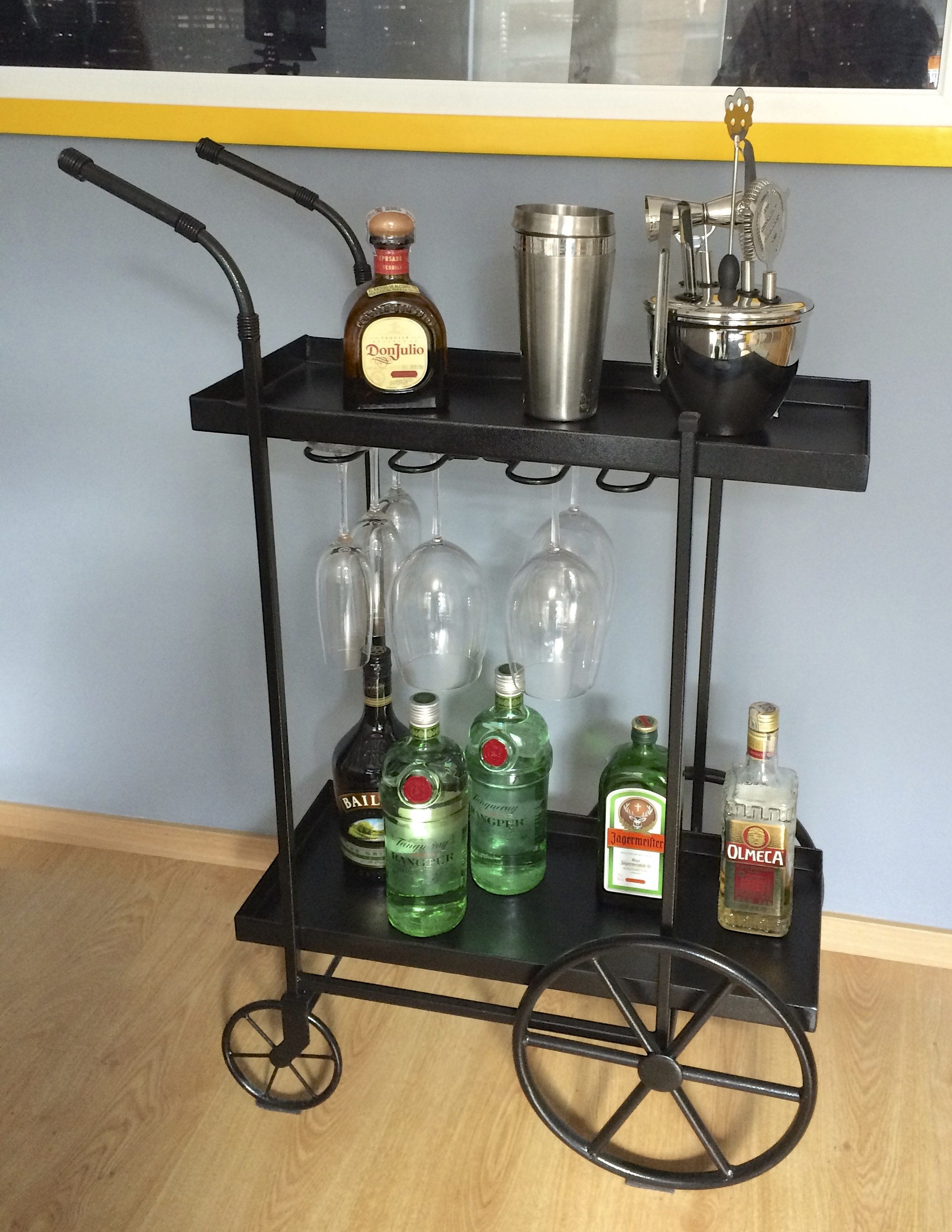 Bar Cart Industrial