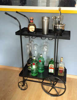 Bar Cart Industrial