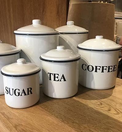 Coffee, Tea, Sugar