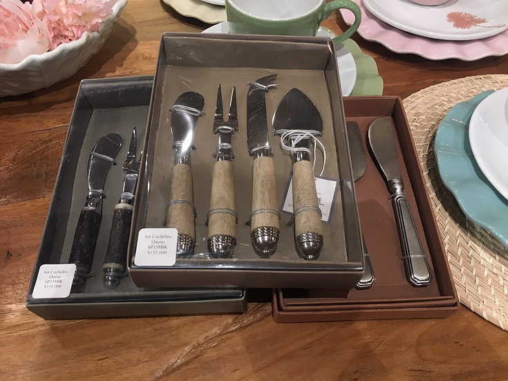 Set Cuchillos para Queso