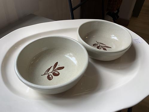 Set x2 Bowl Olivos