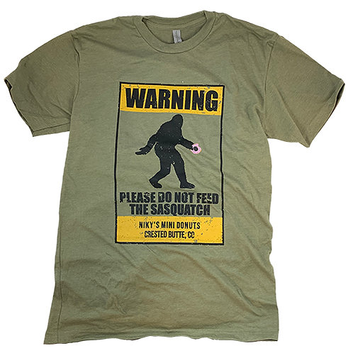 Don't Feed Sasquatch T-Shirt