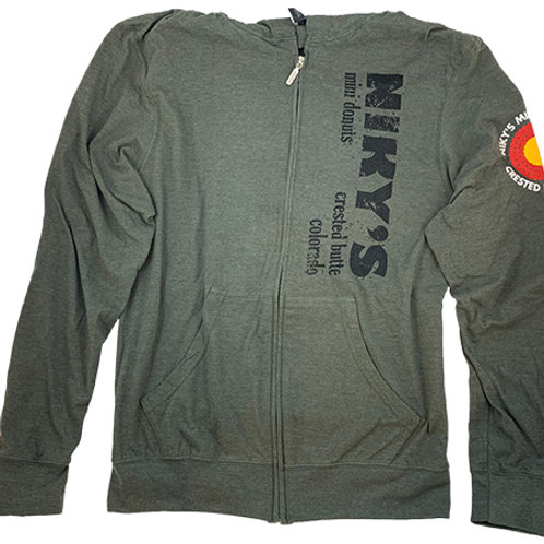 Niky's Black on Gray Hoodie