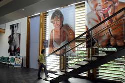 Dans l'hôpital de Digne-Les-Bains