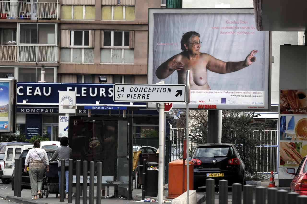 Dans les rues de Marseille