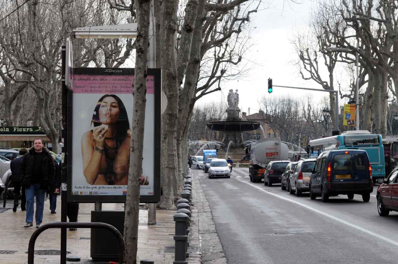 Dans les rues d'Aix-en-Provence