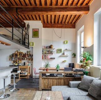 La diversité de l'architecture intérieure à Lyon