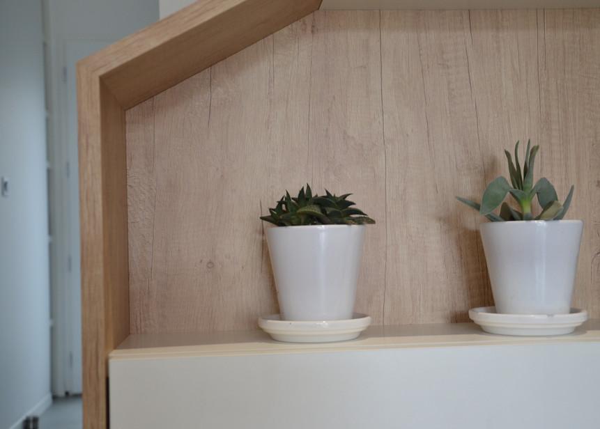 Détail 003 meuble sur-mesure imitation