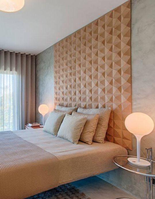 liège panneau mural solution acoustique absorbant décoration chambre intérieur