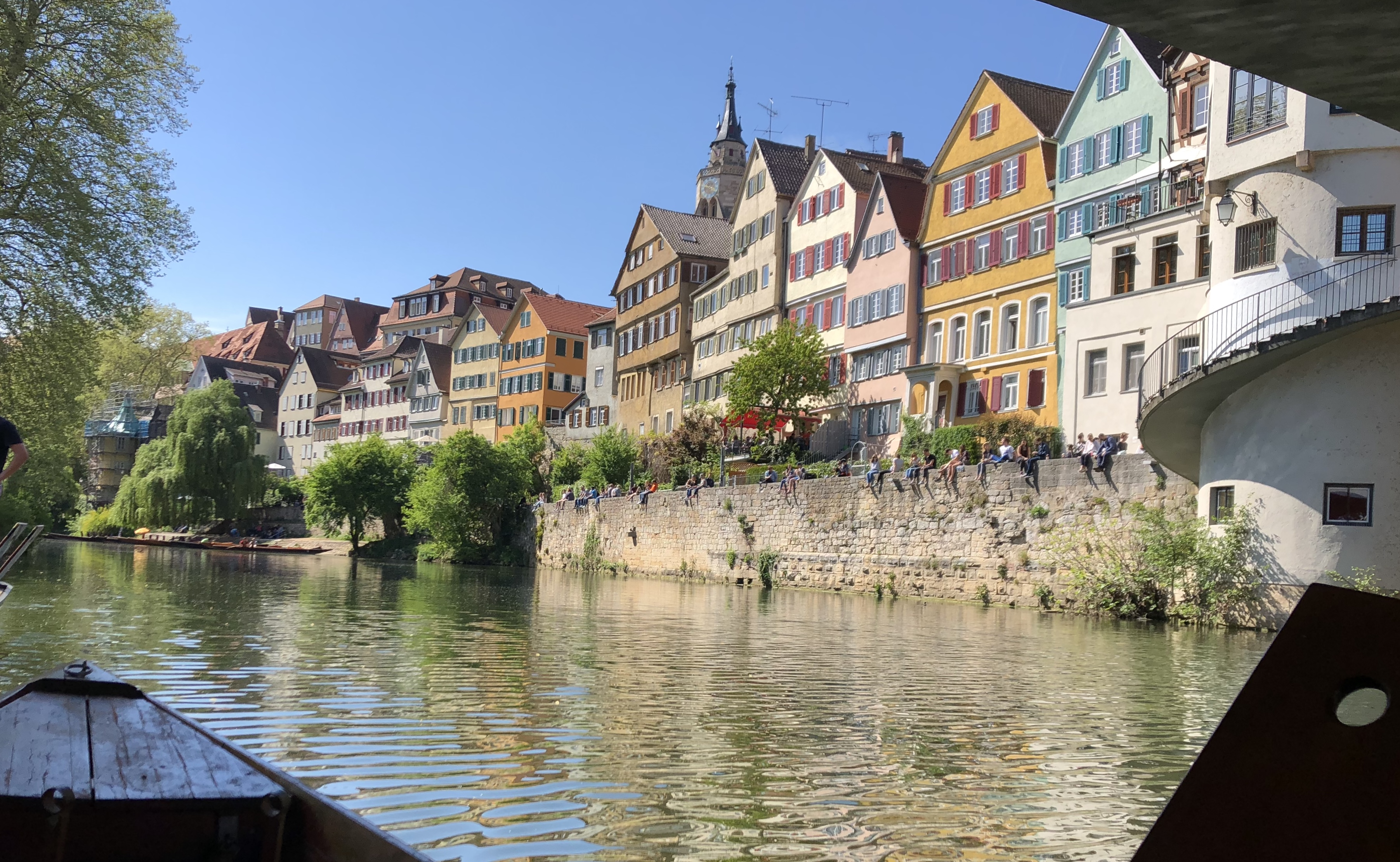 Neckar in Tübingen