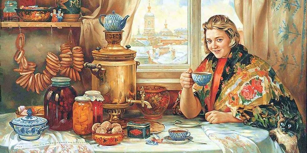 Russischer Teepunsch- und Plätzchenabend