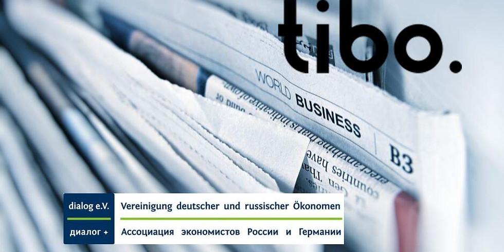 Unternehmensführung bei der tibo GmbH, Pfullingen