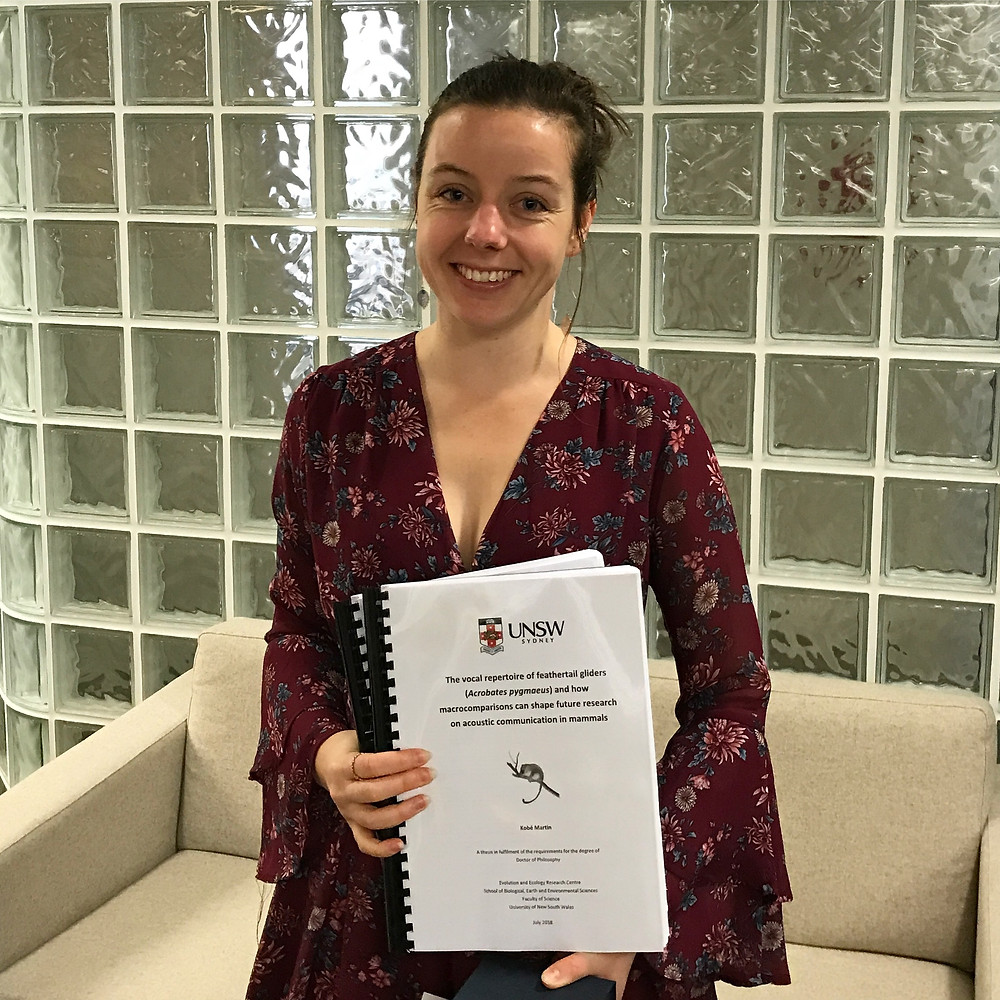Handing in my thesis!