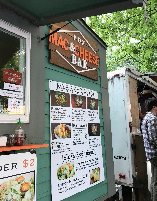 Mac 'n' Cheese food cart