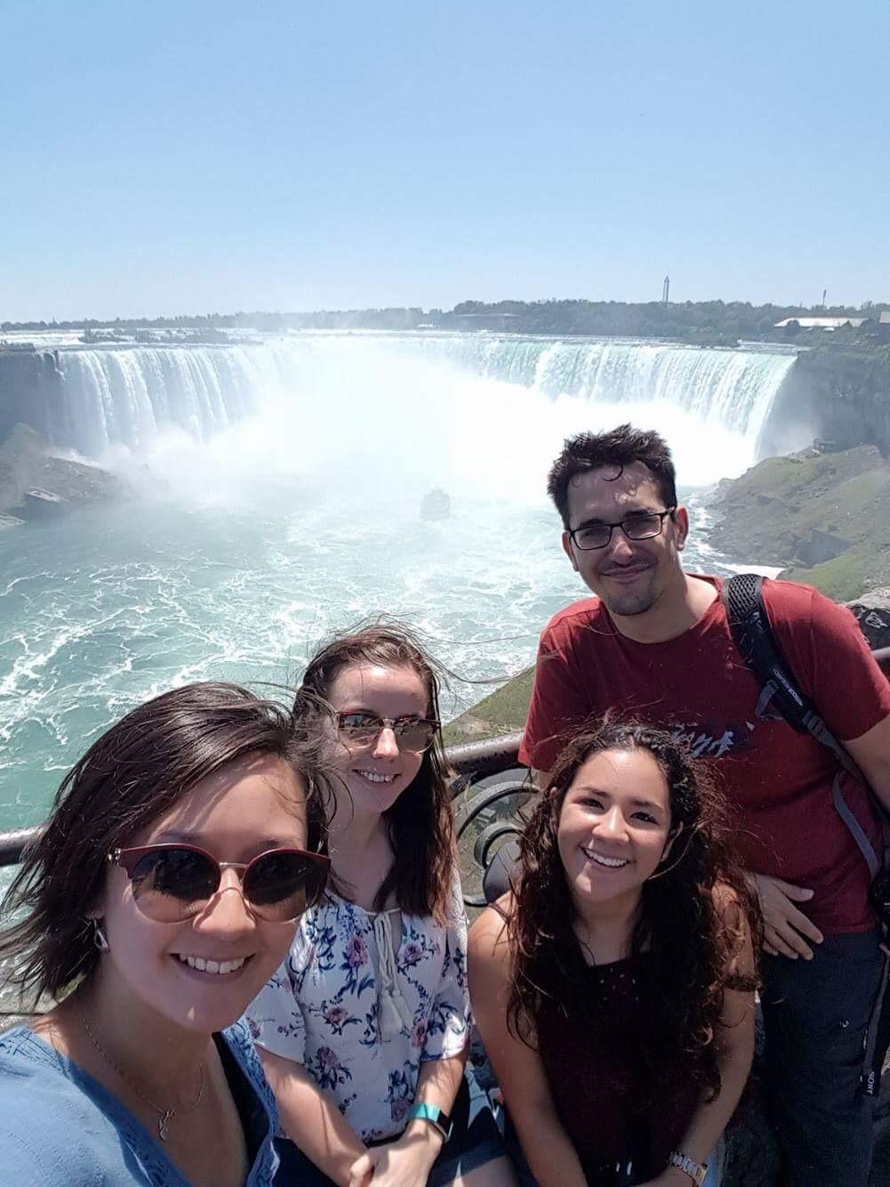 Niagara Falls with great people